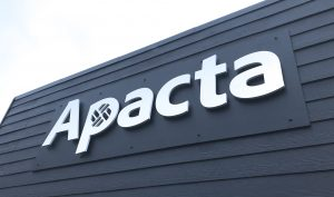 Large investment in Apacta